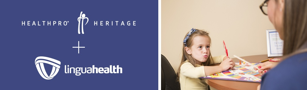 LinguaHealth is now part of the HealthPRO®/Heritage family