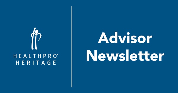 HealthPRO®/Heritage Advisor Newsletter - July 2017