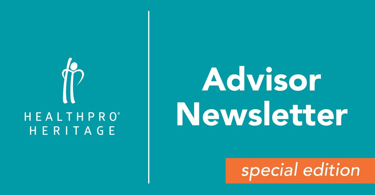 Advisor Newsletter Special Edition - September 2017