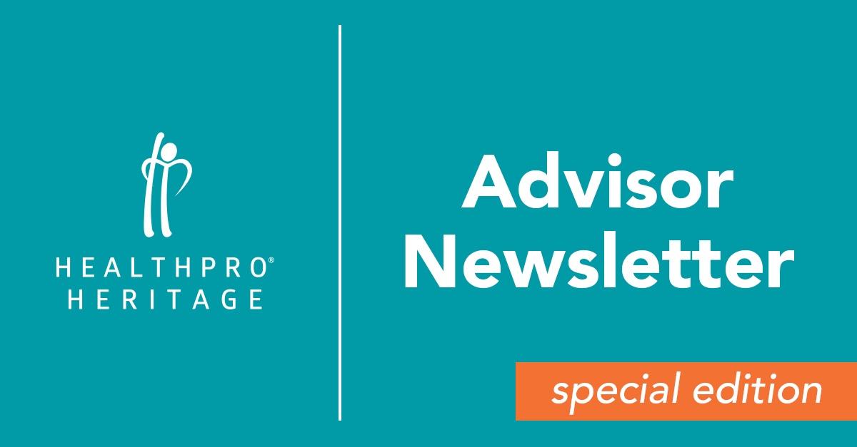 Advisor Newsletter Special Edition - September 2017
