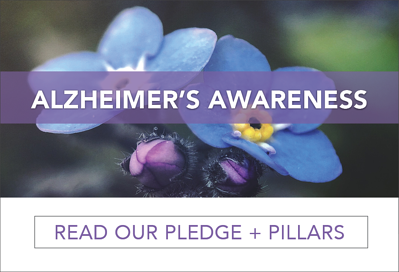 Alzheimers Awareness by HealthPRO Heritage