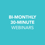 Bi-Monthly 30-Minute Webinars by HealthPRO® Heritage