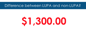 Difference Between LUPA & non-LUPA