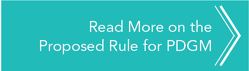 PDGM Proposed Rule Button