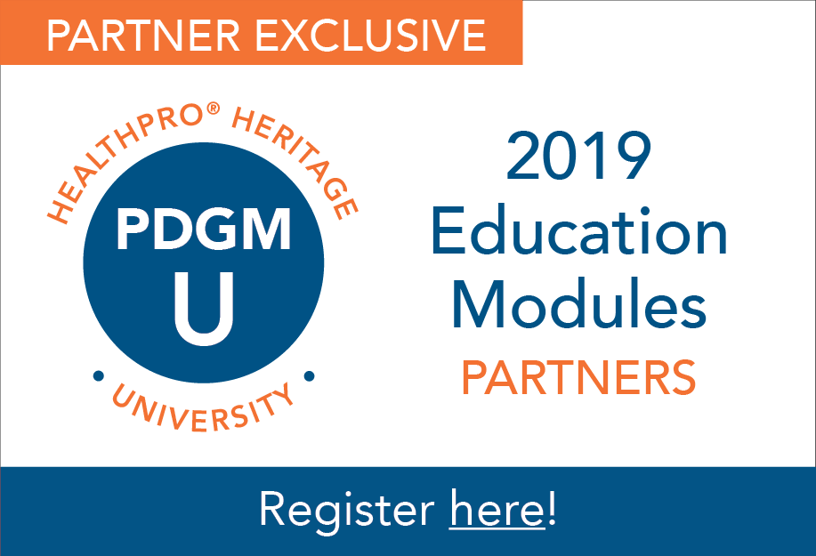 PDGM University: Partner Education