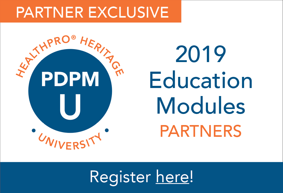 PDPM University: Partner Education