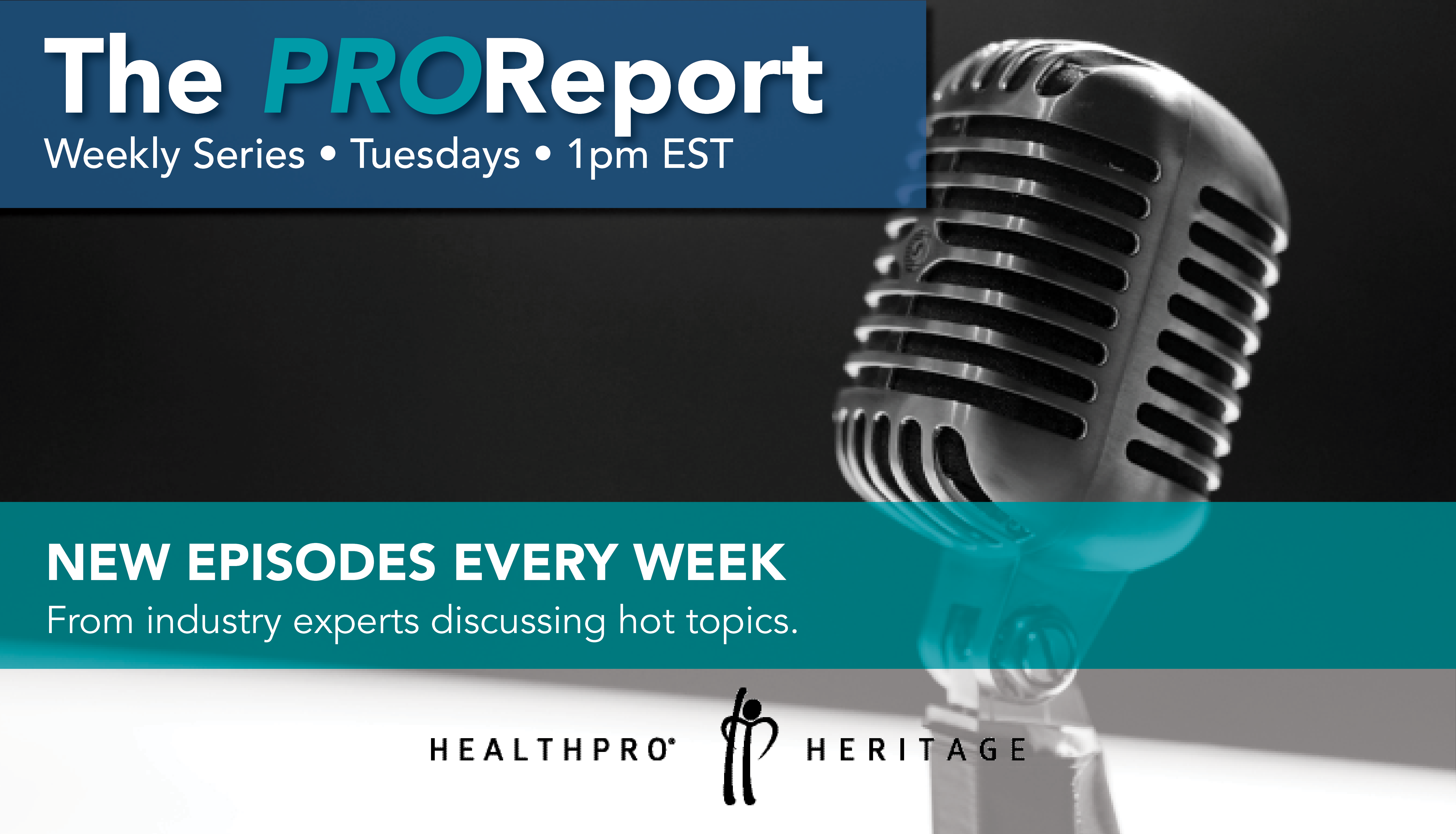 The PROReport by HealthPRO® Heritage