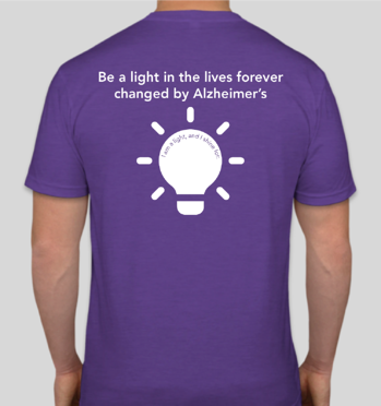 Be a light in the lives forever changed by Alzheimer's