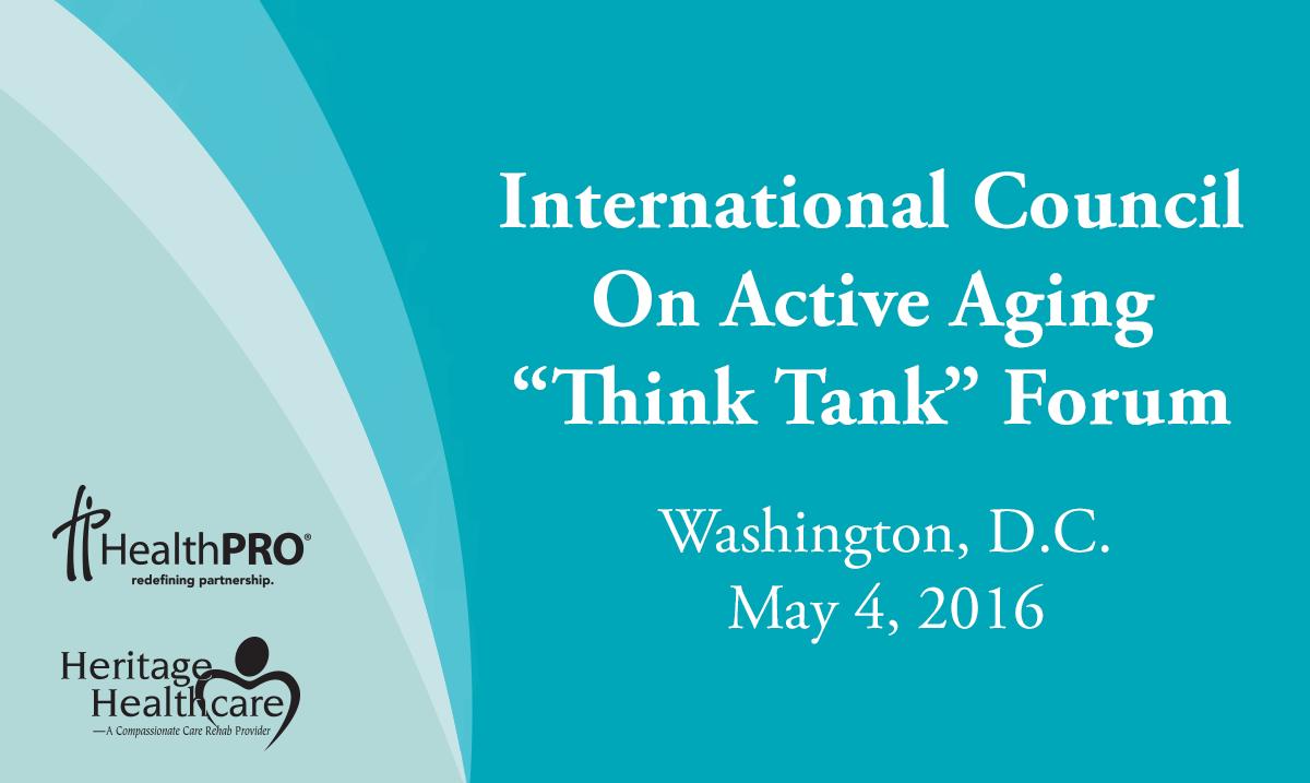 ICAA Think Tank - May 4, 2016