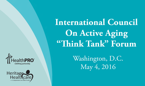 ICAA Think Tank - May 4, 2016